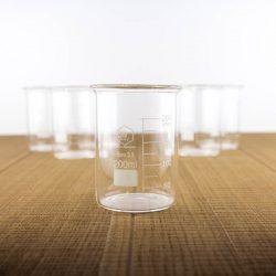 6 low form beakers 200 ml