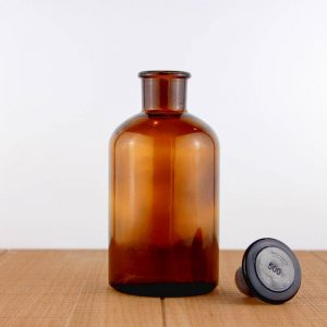 Reagent bottle 500 ml amber