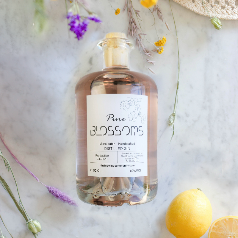 Pure Blossoms gin 50 cl